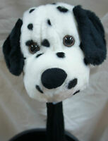 350cc Golf Club Animal Wood HeadCover, Dalmatian, Fit Reg Driver & Fairway Woods