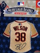 MLB San Francisco Giants Brian Wilson Facsimile Autograph Mini-Jersey Patch
