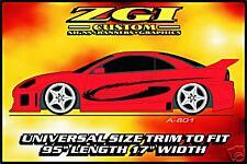ZGI CUSTOM 1 - COLOR  AUTO SIDE GRAPHICS!!  A-801