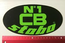 Aufkleber/Sticker: N'1 CB Stabo (080516157)