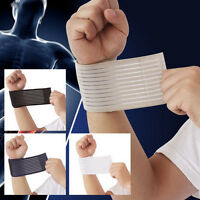 Elastic Palm Wrap Wrist Hand Brace Support Sleeve Band Sports Gym Traning Guard*