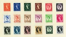 GB Queen Elizabeth 11  Definitives   Mint and Used