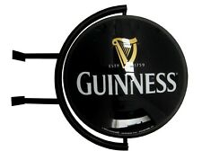 New listing Licensed Guinness 20� Rotating Light Globe Real Distribution Sign - New In Box
