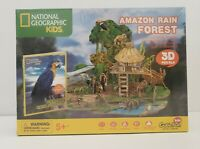 National Geographic: Amazon Rain Forest 3D Puzzle - Cubic Fun Free Shipping!