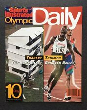 Sports Illustrated 1996 Olympic Daily, Day 10 - Excellent Cond. - FREE SHIPPING