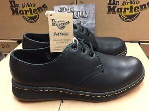 Unisex Dr. Martens Cavendish Black Temperley Shoes 21859001 Medium