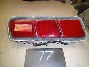 1972 1973 72 73 SUBARU GL COUPE USED LEFT DRIVER TAIL LIGHT LENS 220-20138 74 ?