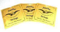 Aquila Ukulele Strings 3 Pack  Concert Regular Nylgut Made in Italy