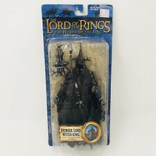 ✳️NEW 2004 Lord Of The Rings Morgul Lord Witch King Action Figure Mace Wielding