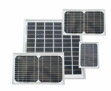 Tempered Glass Solar Panels 3W 8W 10W 12W 20W 90W 125W 195W for eLEDing Light