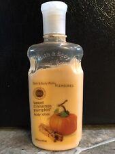 Bath & Body Works SWEET CINNAMON PUMPKIN Body Lotion 10 oz 80% Full