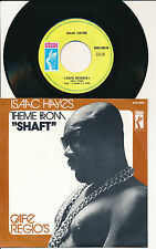 "ISAAC HAYES 45 TOURS 7"" BELGIUM THEME FROM SHAFT"