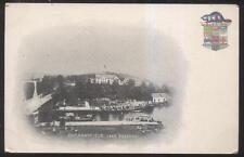 Postcard LAKE ROSSEAU Ontario/CANADA  Port Sandfield Docks Aerial view 1904