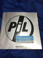 Public Image Limited PIL Japan tour book/ticket stub 1983 Osaka John Lydon