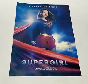 Supergirl The CW Has A New Hero 12 x 18 Poster Melissa Benoist Awesome Poster