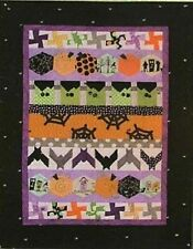 New Pieced Quilt Pattern HALLOWEEN HEX  Wallhanging