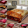 Soft Warm Heavy Thick Blanket Luxury Large Faux Fur Sofa Bed Throw King Size