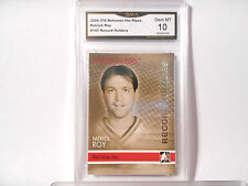 Patrick Roy GRADED CARD! Gem Mint 10! 2006/07 ITG Between the pipes #143 HOFer 1