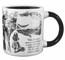Alice in Wonderland disappearing CHESHIRE CAT Coffee Mug Cup Taza