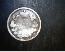1898 Canada, 5 Cents, Low to Medium Grade, .0346  oz Silver (Can-459)