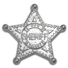 5 oz 999 Silber Silberbarren USA Sheriff Stern Sheriffstern Scheriffstern