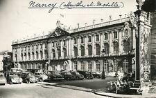Carte NANCY L'Hôtel de Ville Pour les véhicules dont 2CV Citroën