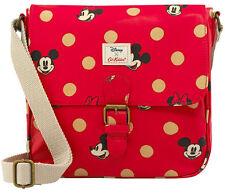 Cath Kidston x Disney Minnie Mickey Mouse Red Spot Mini Satchel BRAND NEW
