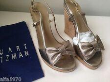 Stuart Weitzman'Attire' Wedge Espadrille Sandal Size 6.5 New