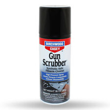 Birchwood Casey GUN SCRUBBER • AEROSOL • FIREARM CLEANER • HIGH PRESSURE SPRAY
