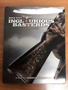 Inglourious Basterds Steelbook (Blu-ray/DVD, 2009, 2-Disc Set)