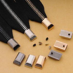 10pcs Zipper Tail Stopper DIY Repair Open End Zipper Accessories Sewing DIY