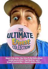 DVD: Ultimate Ernest Collection, John R. Cherry III. Good Cond.: Jim Varney, Lin