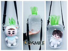 Radish Transparent Shoulder Bag ita Bag PVC for Kpop EXO BTS Doll Show 15/20cm