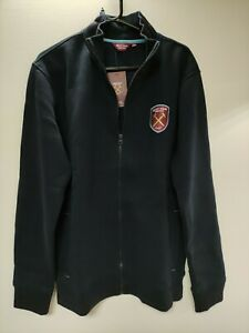 WEST HAM UNITED London size L, fleece jacket, zipped, BNWT