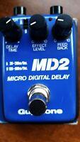 Guyatone MD-2 Micro Digital Delay Echo Rare Guitar Effect Pedal MIJ Japan