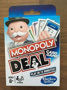 Monopoly Deal Card Game - New & Boxed
