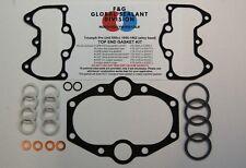 Triumph Pre Unit 650 top end gasket kit alloy head AFM THE BEST T110 TR6 T120