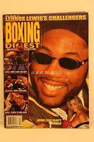 Boxing Digest Magazine Nov./Dec. 2000 Lennox Lewis Callengers