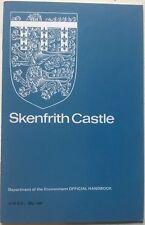 Vintage 1970s HMSO Guide Skenfrith Castle Wales UK Souvenir Tourist Stately Home