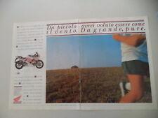 advertising Pubblicità 1993 MOTO HONDA CBR 600 F