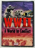 NEW World War Two A World in Conflict DVD WWII Video Full Screen History 2011