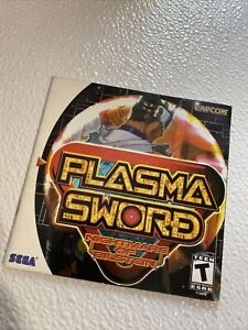Plasma Sword Manual Only Sega Dreamcast Original Authentic Registration card