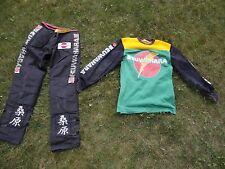 1980-83 Kuwahara BMX Team Racing Jersey & Pants - Old School BMX