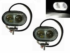 2x 20W 4D LENS OVAL CREE SPOT LED FOG/ WORK LIGHT For Mitsubishi Cars