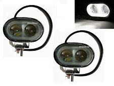 2x 20W 4D LENS OVAL CREE SPOT LED FOG/ WORK LIGHT For Mitsubishi Cars