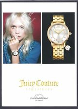 JUICY COUTURE watch Print Ad