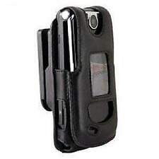AMZER Stylish Padded Lambskin Case with Ratchet Swivel belt Clip for LG VX8600