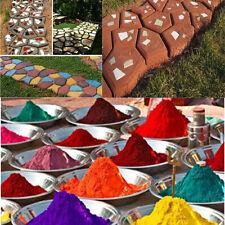 500g 1LB Concrete Color Pigment Dye Cement Mortor Grout Plaster Multi colored