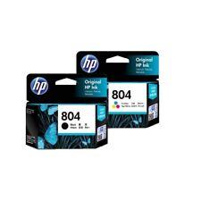 SET HP #804 Color + Black 2x Inks T6N09AA T6N10AA - ENVY 6220 6222 7120 TANGO X