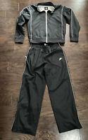 Vintage Nike AIR Windbreaker Track Soccer Warmup Suit Jacket Pants Mens Sz Large